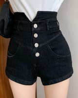 Personality slim shorts high waist short jeans for women