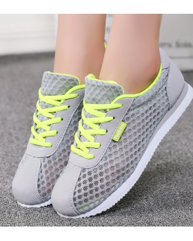Breathable running shoes Korean style Sports shoes for women