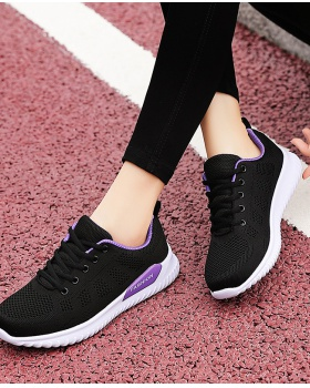 Autumn mesh shoes summer Korean style Sports shoes for women