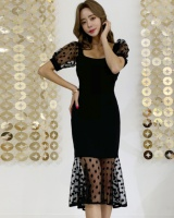 Splice slim summer temperament dress for women