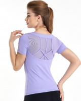 Sports short sleeve tops summer T-shirt for women