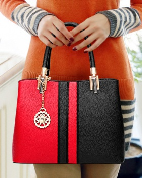 Fashion mixed colors handbag shoulder bag for women