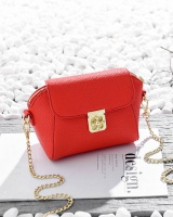 Mini shoulder chain bag lock catch packet for women