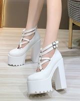 Fashion all-match short boots high-heeled platform for women