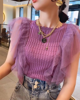 Light summer tops Western style sweater for women