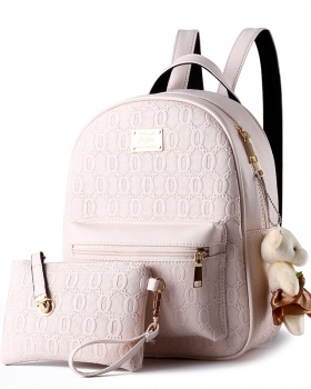 Korean style college style schoolbag Casual bag for women