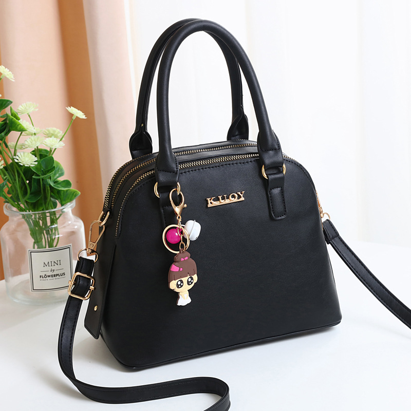 High capacity bag all-match shoulder bag