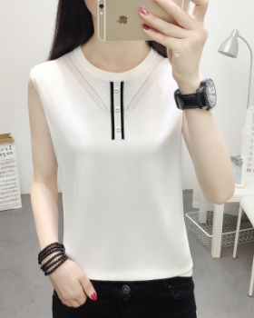 Bottoming sleeveless summer vest for women