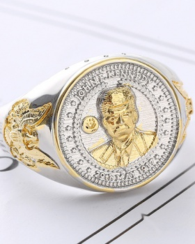 Head show American style ring for men