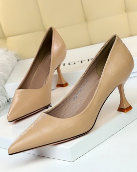 Pointed Korean style shoes fashion high-heeled shoes