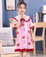At home summer girl night dress child lovely pajamas