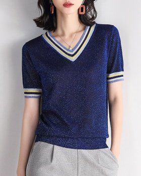 Loose bottoming shirt sweater for women
