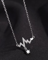 Silvering necklace clavicle necklace for women