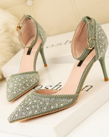 Fashion pointed sandals sexy rhinestone stilettos for women