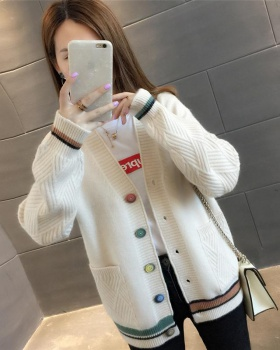 Student Western style cardigan short coat for women