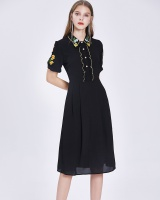 France style dress temperament long dress for women