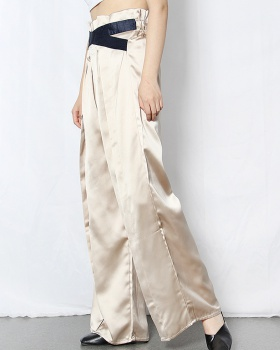 Temperament long pants summer casual pants for women