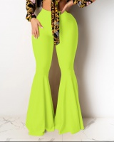 Slim European style lotus leaf skirt nightclub sexy pants