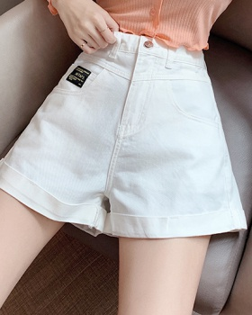 Summer wide leg pants Western style shorts for women