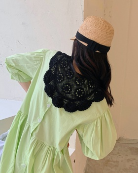 Knitted crochet retro shawl lace summer hollow scarves