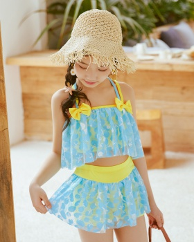 Lovely separates swimsuit Western style lady dress