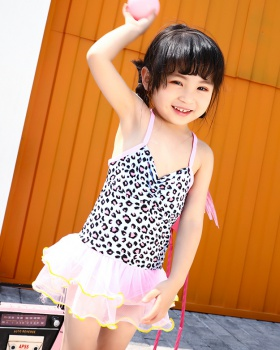 Swim printing swimwear baby conjoined skirt