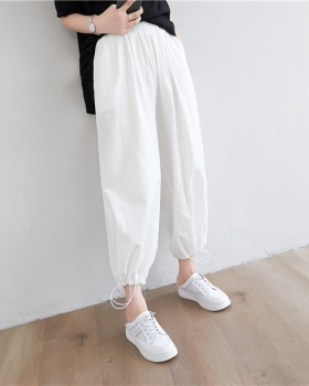 Simple all-match pencil pants loose Korean style long pants