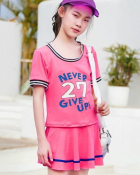 Girl separate Korean style swimwear sports vacation skirt