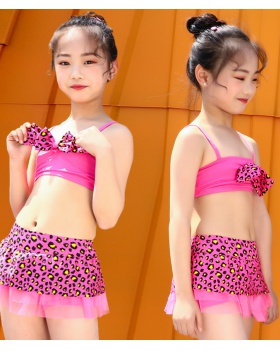 Separate baby swimwear Korean style Western style lady dress