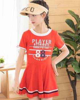 Little girl Casual skirt sports swimwear