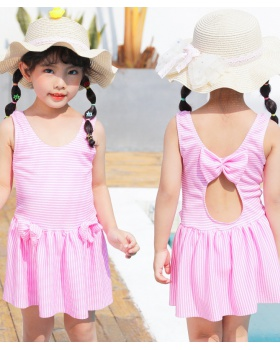 Sweet lovely child Korean style swim baby swimwear