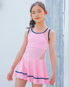 Island flair child vacation Casual girl sports swimwear