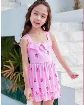 Autumn child swimwear sweet princess vacation skirt