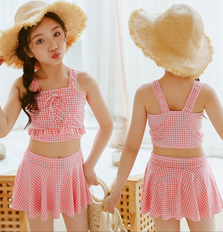 Baby child skirt separate swimwear 2pcs set for women