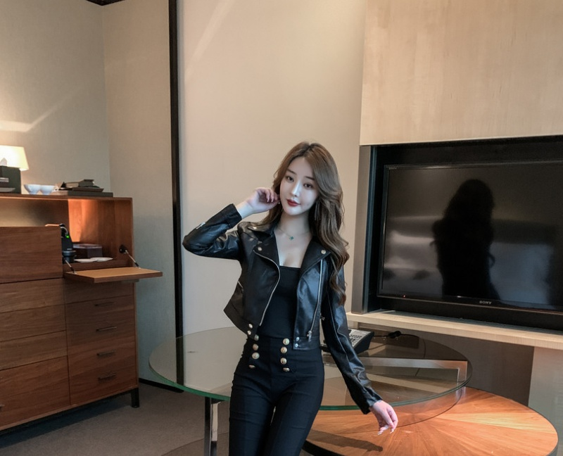 Fashion all-match coat short Korean style business suit