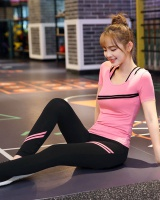 Fitness autumn sweatpants 3pcs set for women