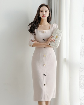 Temperament stereoscopic light Korean style dress