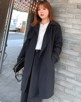 Slim windbreaker long sleeve cardigan for women