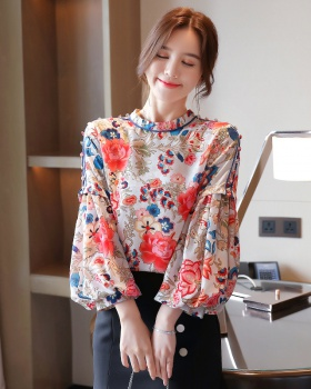 Fashion long sleeve shirt printing autumn tops
