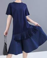 Summer slim long dress student dress for women