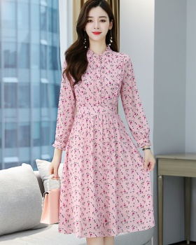 Spring and autumn long sleeve dress for women