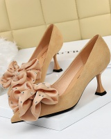 Flowers shoes high-heeled shoes for women