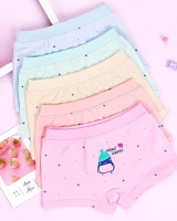 Printing baby cartoon girl pure cotton briefs for women