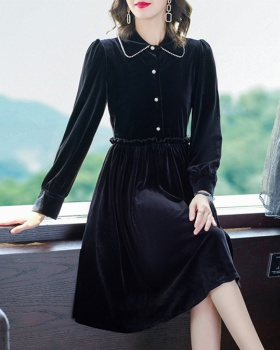 Temperament loose France style fashion and elegant dress