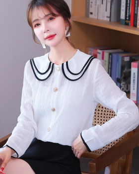 Western style small shirt autumn shirt for women