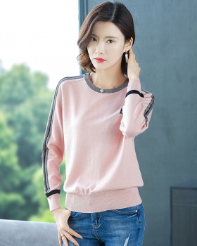 Fat loose tops autumn and winter sweater for women