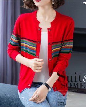 Cashmere knitted shawl autumn sweater for women