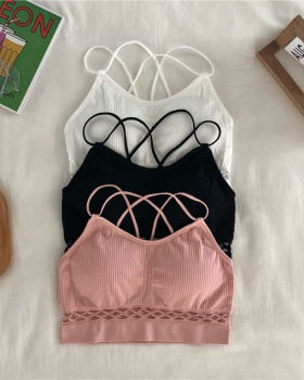 Sling hollow underwear beauty back vest for women