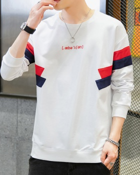 Autumn bottoming shirt long sleeve hoodie for men