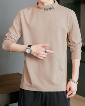 Pullover bottoming shirt pure cotton tops for men